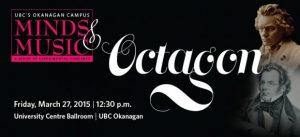 Classical music by Octagon ensemble to fill UBC Okanagan's Ballroom